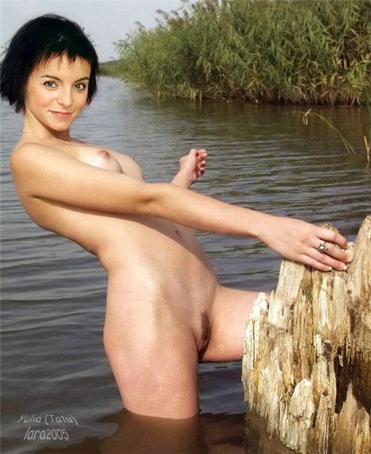 фото голая волкова юля